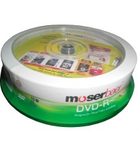 DVD'R-Pack of 10 nos. Writable