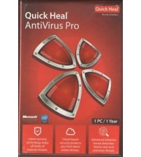 Quick Heal Pro 1 Pc - 1 Year Subscriptions