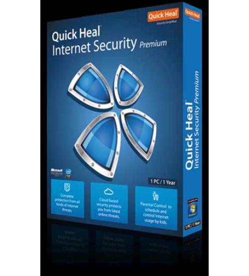 Quick Heal Internet Security 1 Pc - 1 Year Subscriptions