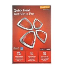 Quick Heal Pro 2 Pc - 1 Year Subscriptions