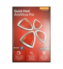 Quick Heal Pro 3 Pc - 1 Year Subscriptions