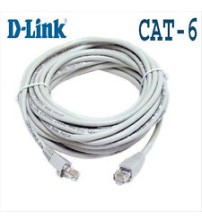 DLink CAT6 RJ45 Patch Cord - 5 Meter