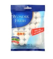 Wonder Fresh Naphthalene Ball - 200 Gms