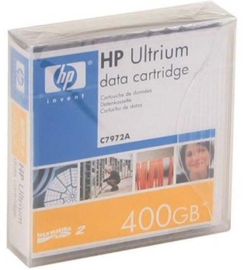 HP LTO-2 Ultrium 400GB Data Cartridge (C7972A)