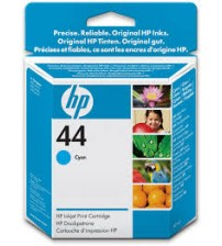 HP 44 Cyan Inkjet Print Cartridge- Part No51644CA