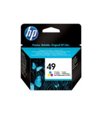 HP 49 Tri-color Inkjet Print Cartridge- Part No51649AA