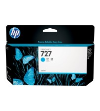 HP 727 130-ml Cyan Ink Cartridge- Part NoB3P19A