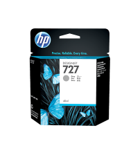 HP 727 40-ml Gray Ink Cartridge- Part NoB3P18A