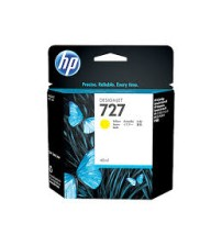 HP 727 40-ml Yellow Ink Cartridge- Part NoB3P15A