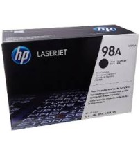 HP LaserJet 98A Black Print Cartridge- Part No92298A